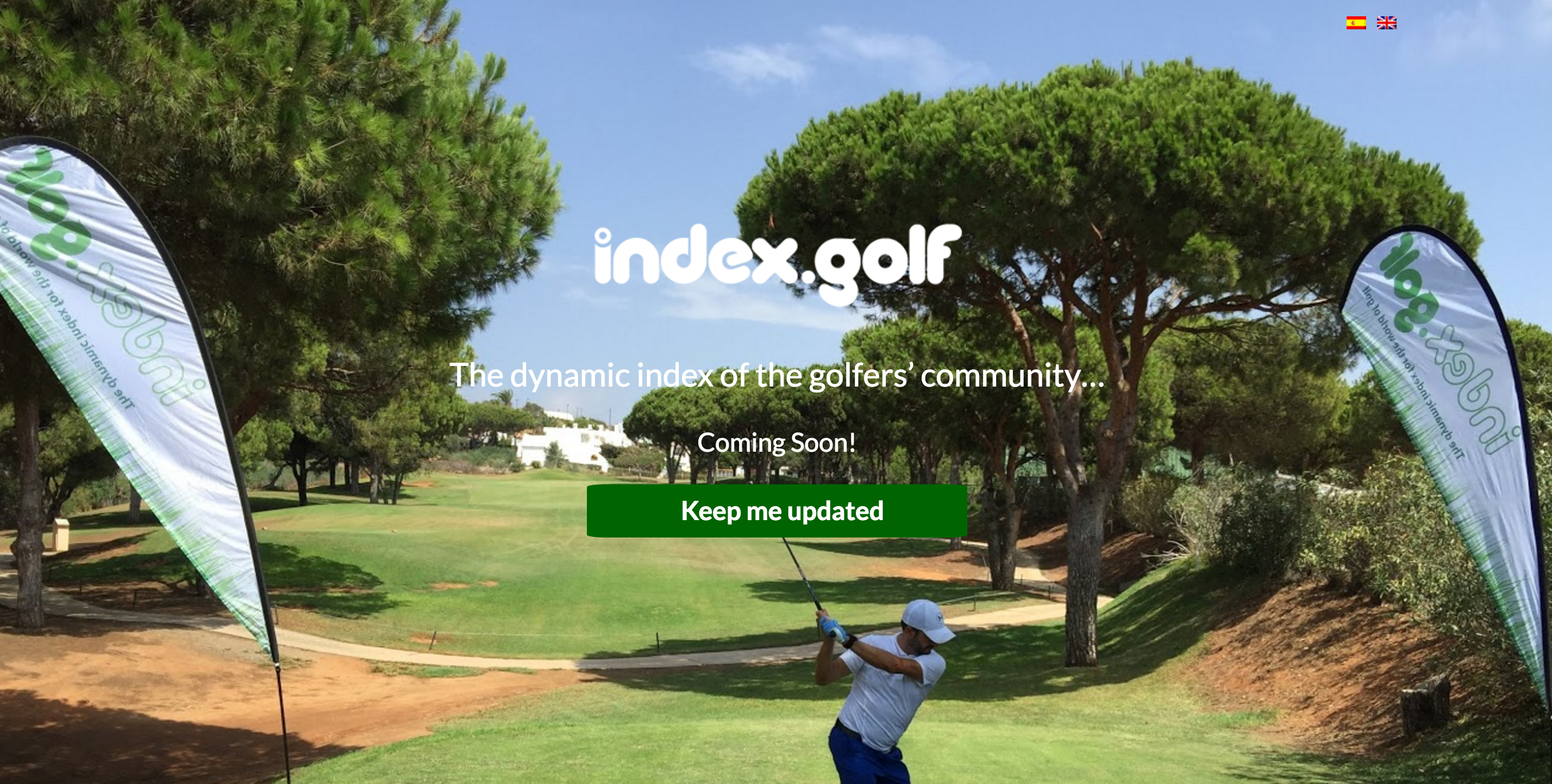 Screen Shot Index.Golf